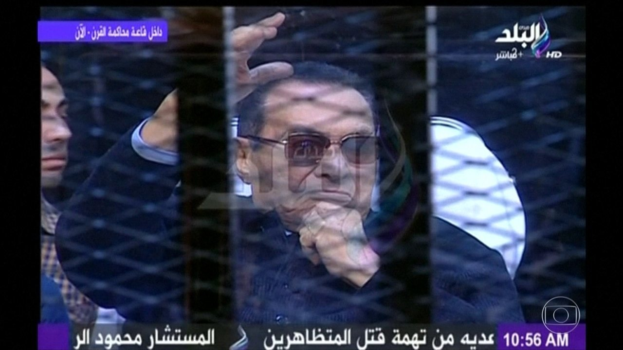 Morre o ex-presidente do Egito, Hosni Mubarak, aos 91 anos