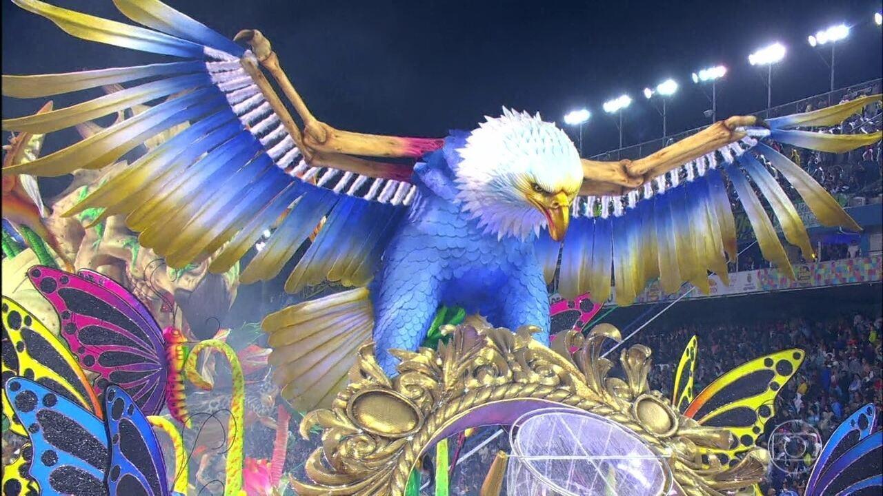 Águia de Ouro vence o Carnaval de São Paulo