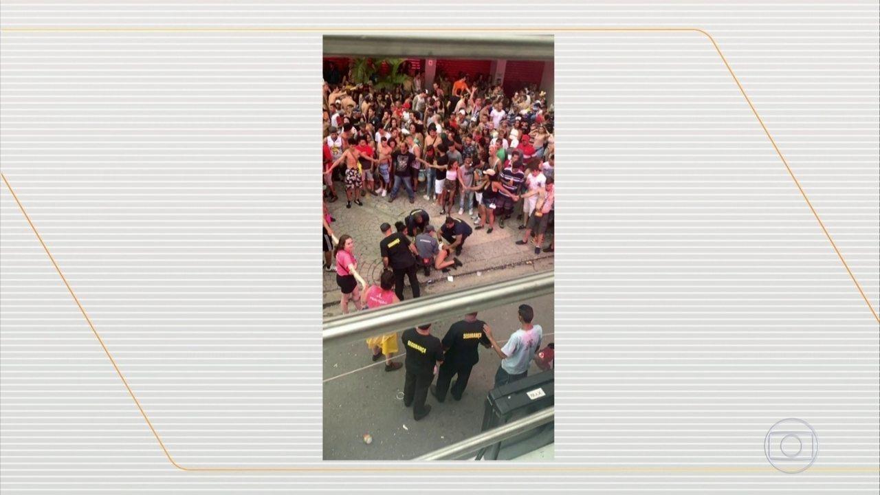 Duas pessoas são baleadas em um bloco de Pinheiros, na Zona Oeste de São Paulo