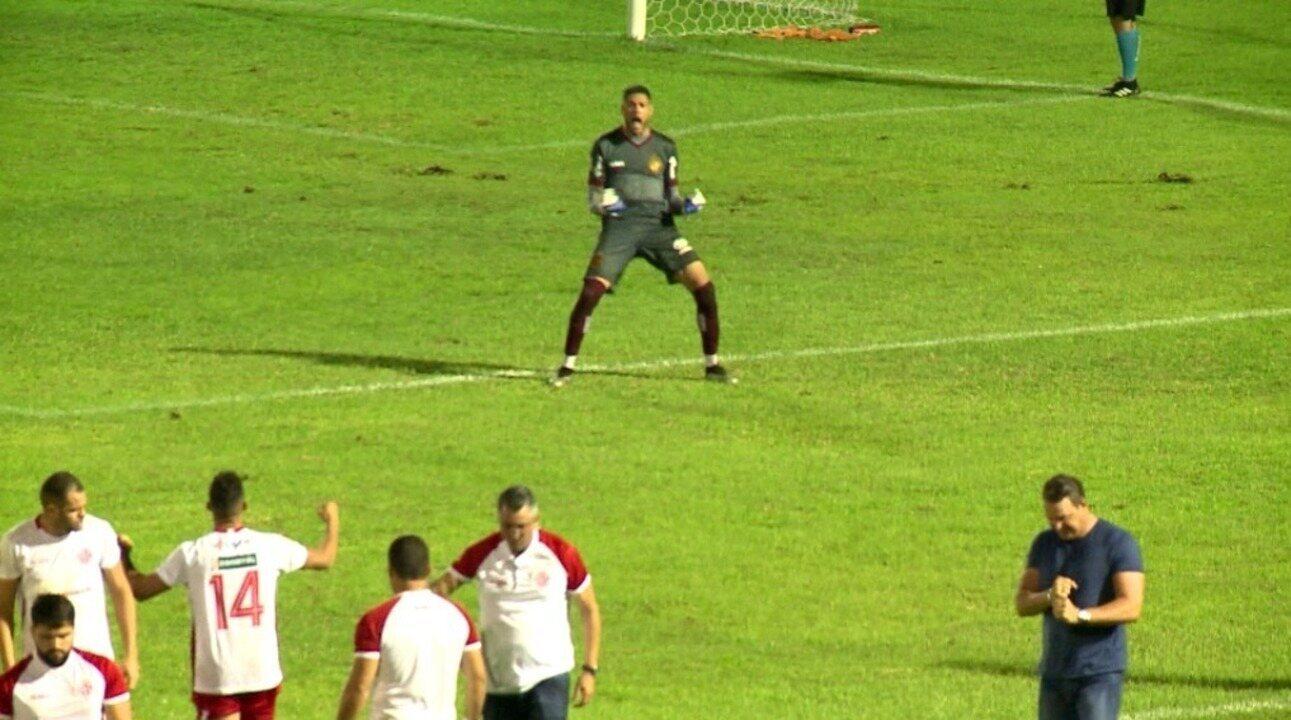 Os pênaltis de River-PI 1 (3) x (4) 1 América-RN pela segunda fase da Copa do Brasil