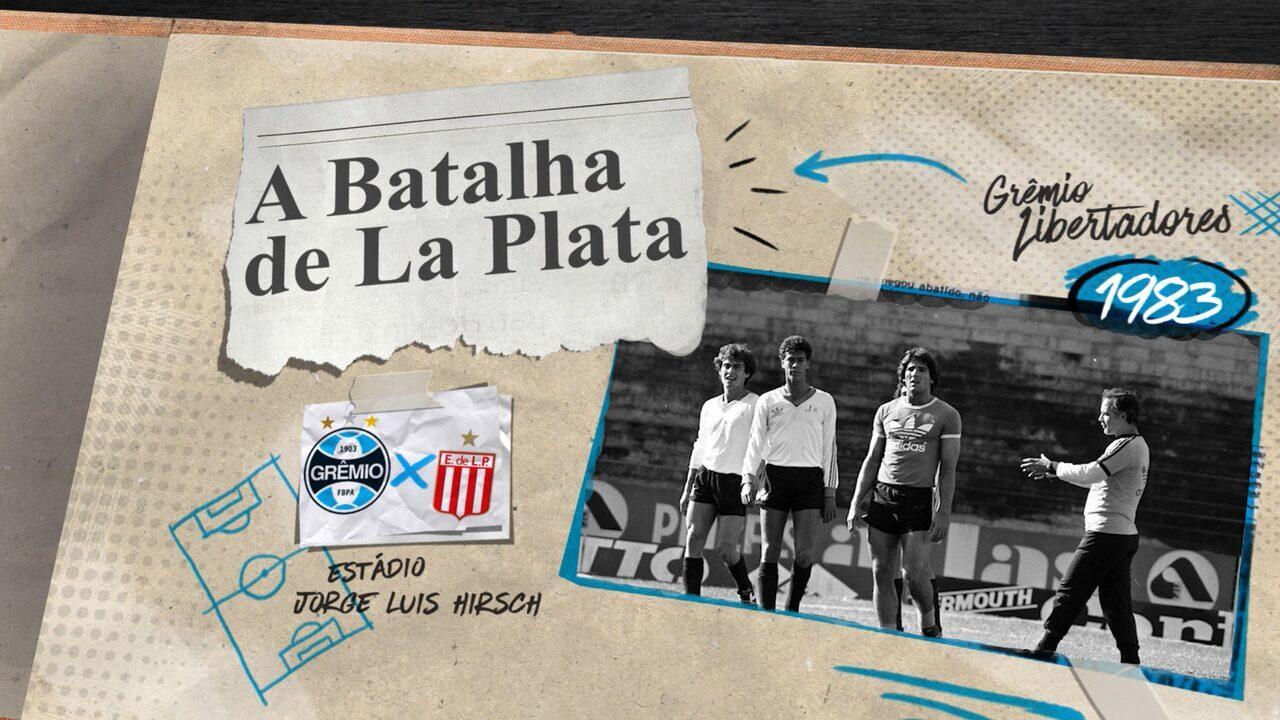 """Baú do Esporte: Valdir Espinosa relembra ''A Batalha de La Plata"""" da Libertadores de 1983"""