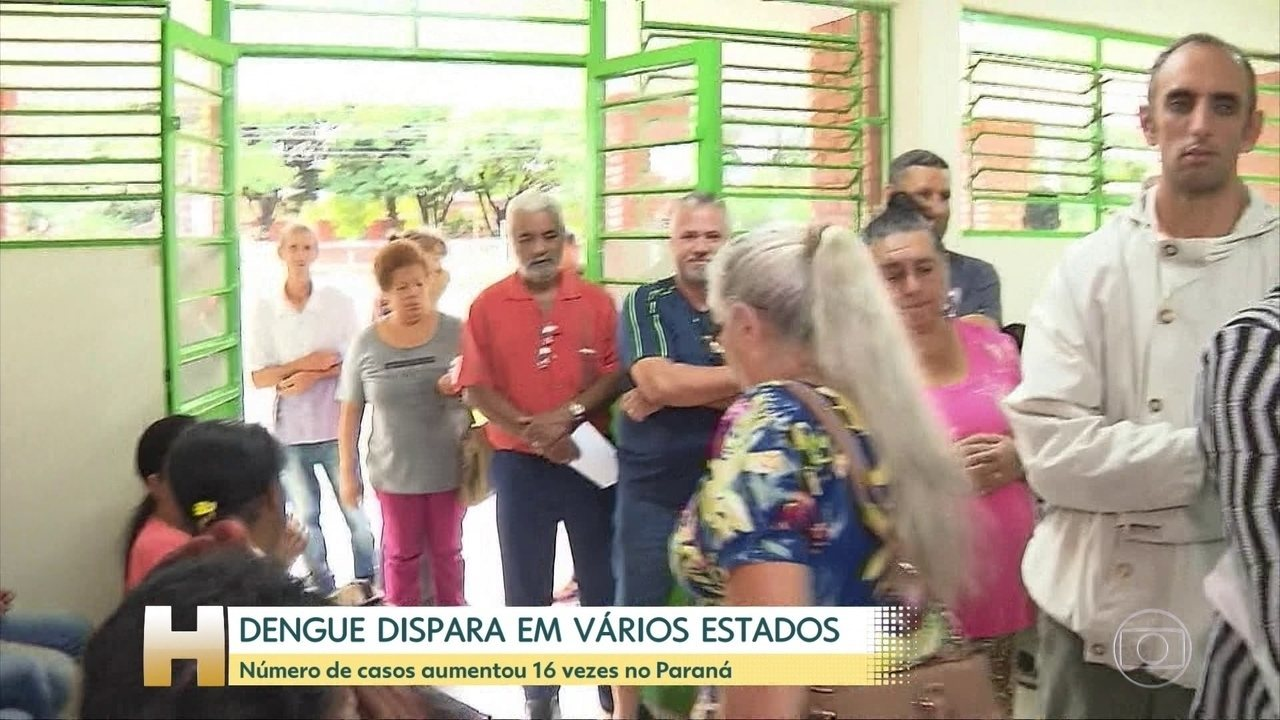 Casos de dengue têm aumento surpreendente no Paraná