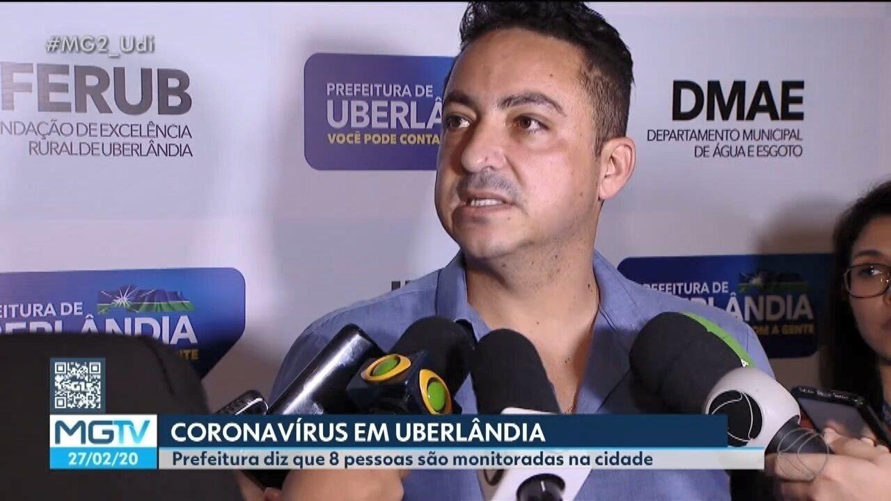 Uberlândia tem oito casos suspeitos de coronavírus em investigação