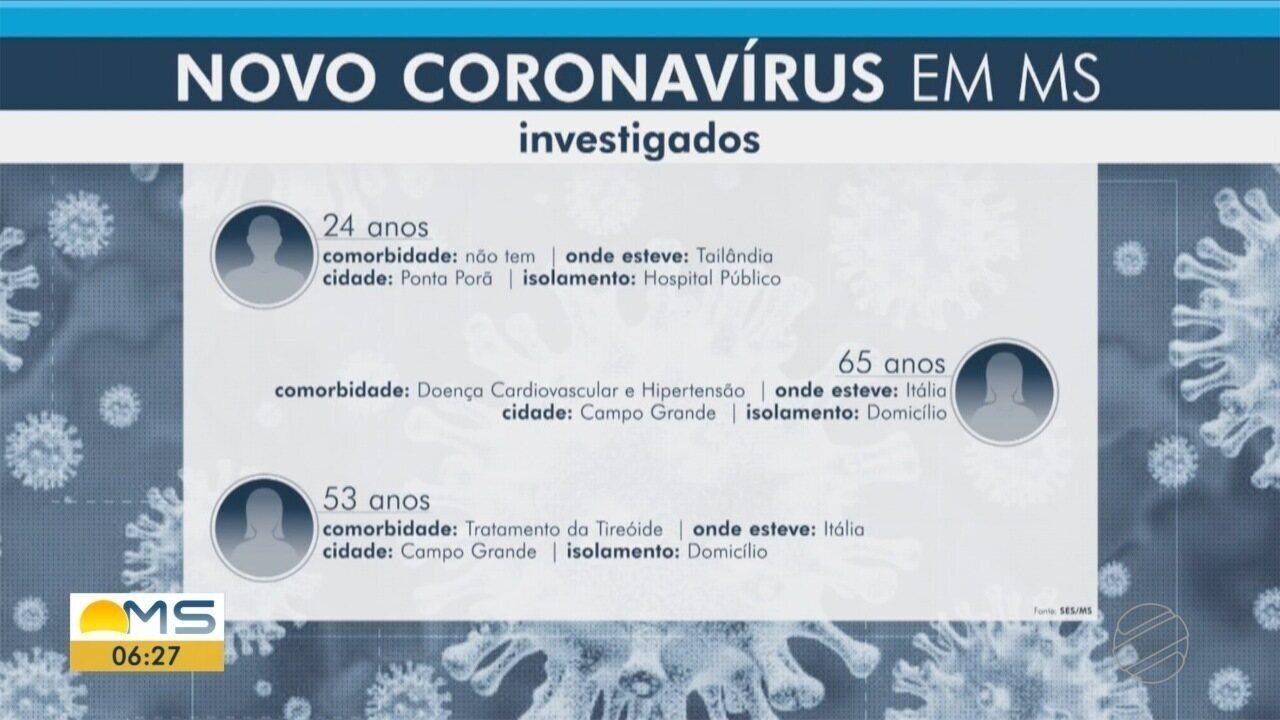 Bombeiros de MS passam a fazer atendimentos com proteção contra o coronavírus