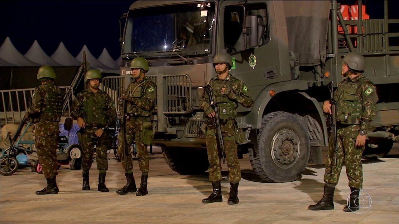 Governo prorroga presença de tropas do Exército no Ceará por uma semana