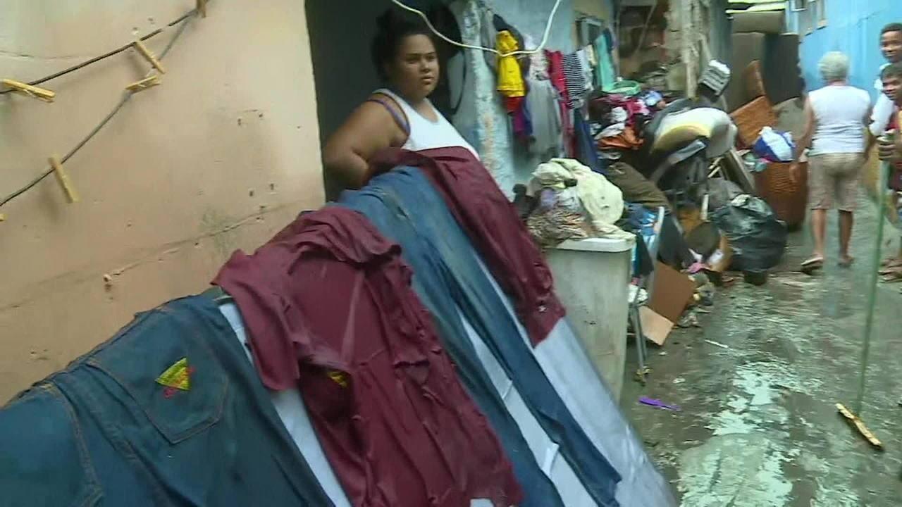 Chuva deixa dois mortos na Zona Oeste do RJ