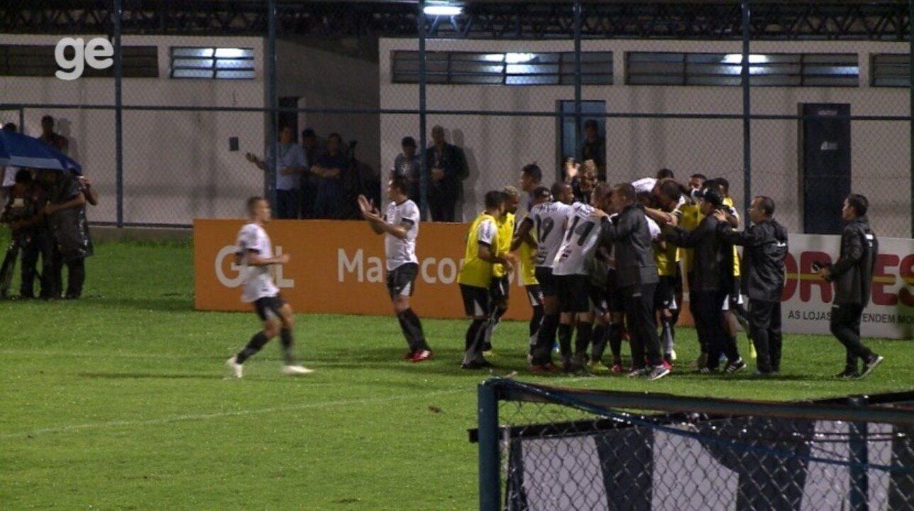 Os gols de River-PI 0 x 4 Ceará, pela sexta rodada da Copa do Nordeste