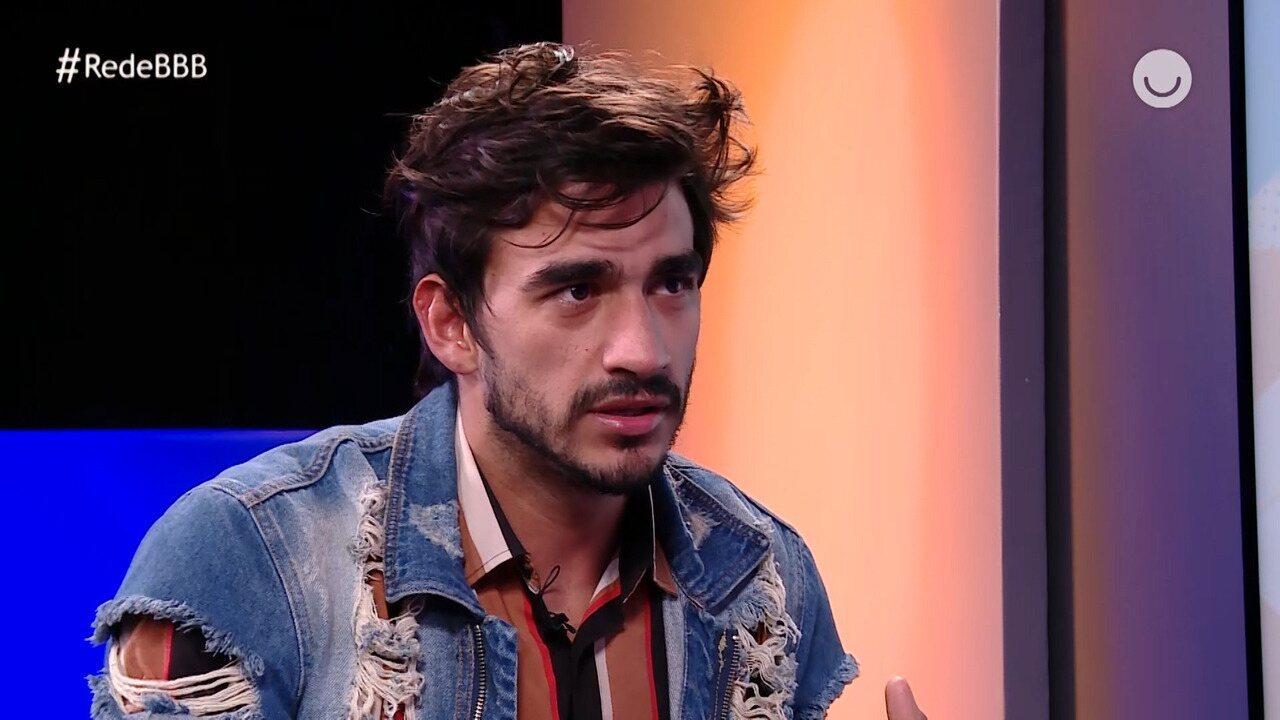 Guilherme acredita que não soube dosar carinho por Bianca