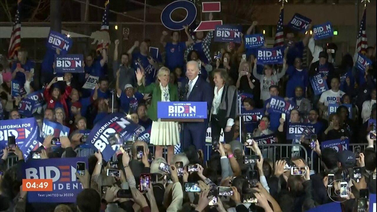 Bernie Sanders e Joe Biden disputam as eleições presidenciais nos EUA
