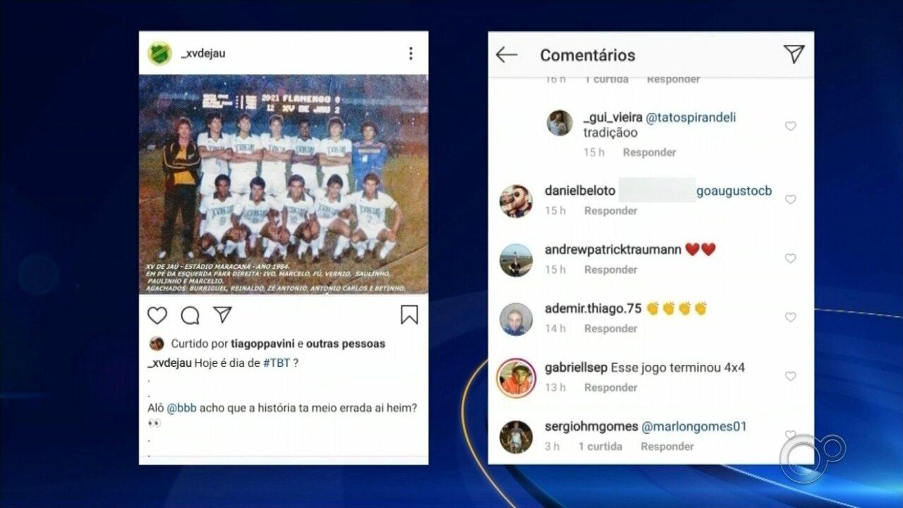 Em comentário sobre disputa, brother do BBB 20 cita XV de Jaú e causa repercussão na web