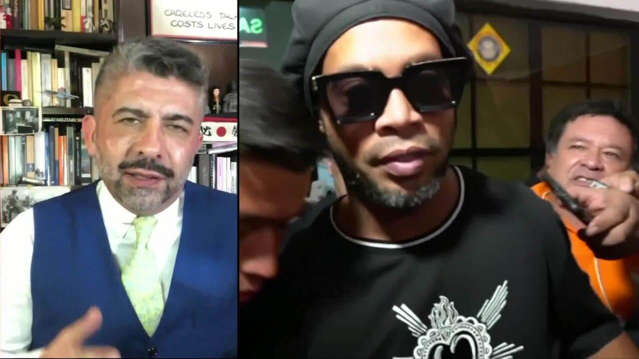 Ronaldinho Gaúcho e o irmão são detidos no Paraguai