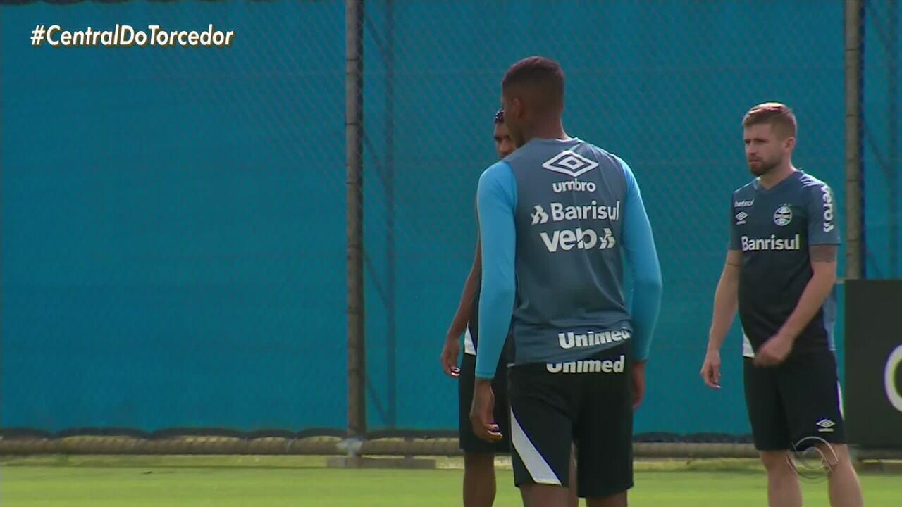 Titulares do Grêmio treinam neste sábado (7) e domingo (8) em Porto Alegre
