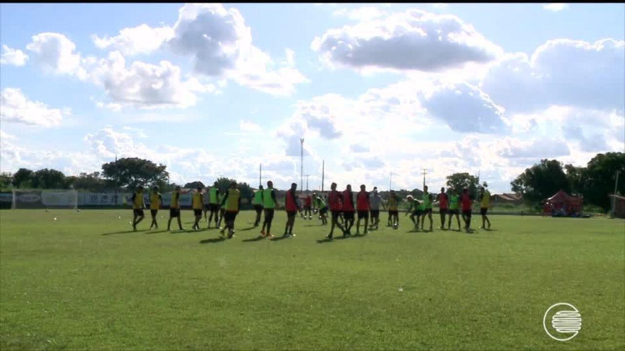 River-PI se prepara para jogo contra o Altos em Piripiri