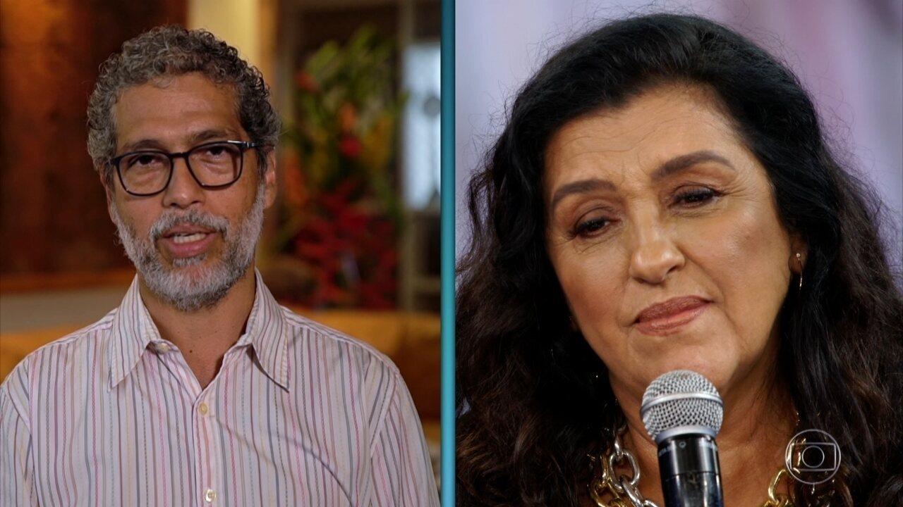 Estevão Ciavatta, marido de Regina Casé, manda mensagem para o 'Arquivo Confidencial'