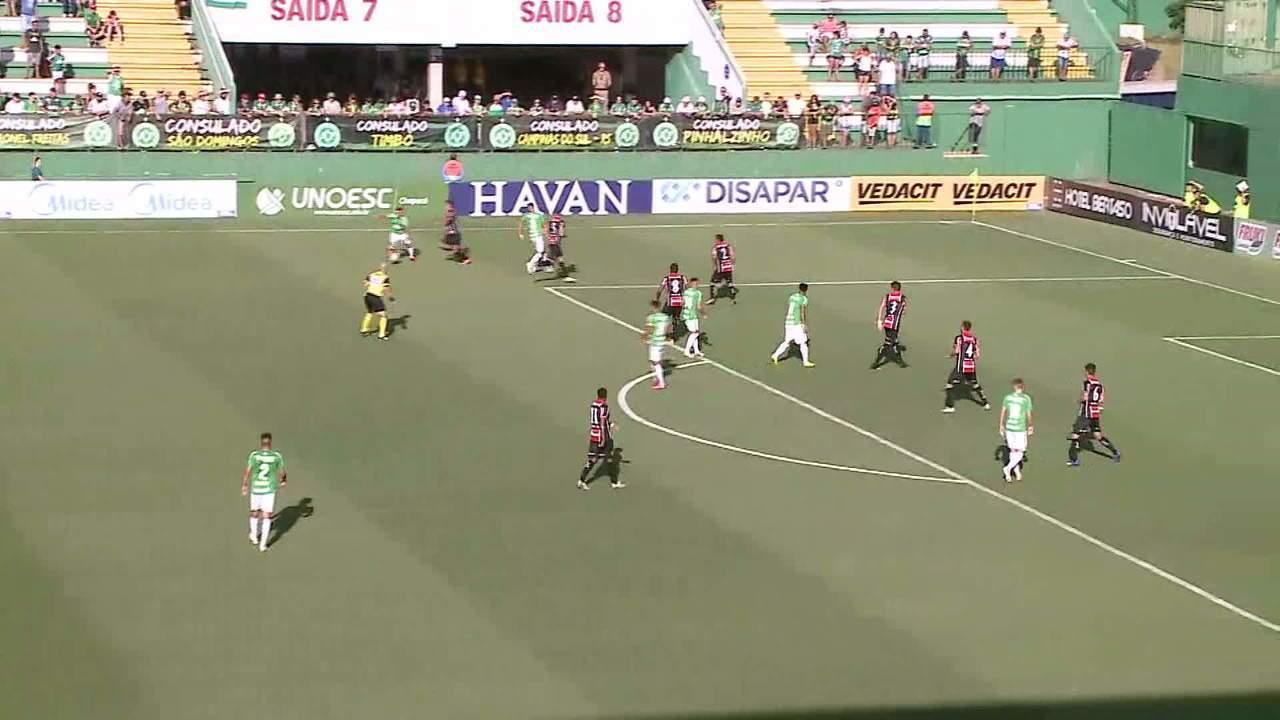 Gols de Chapecoense 3 x 0 Joinville
