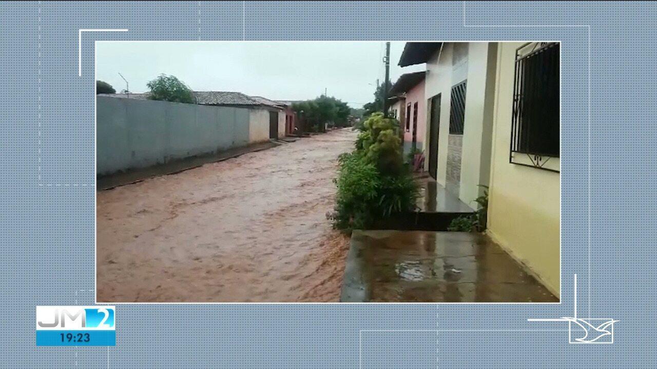 Famílias contabilizam prejuízos após chuvas em Balsas e Grajaú