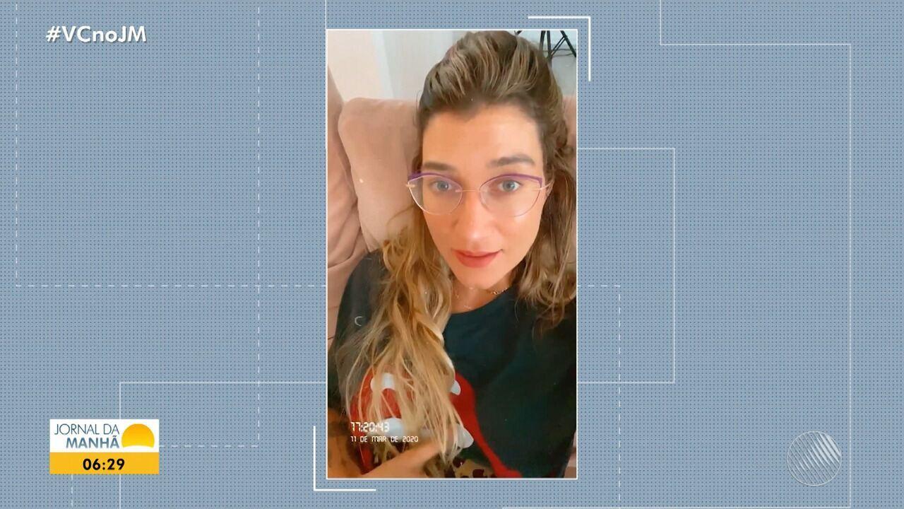 Após casamento da irmã na BA, Gabriela Pugliesi procura atendimento com sintomas de vírus
