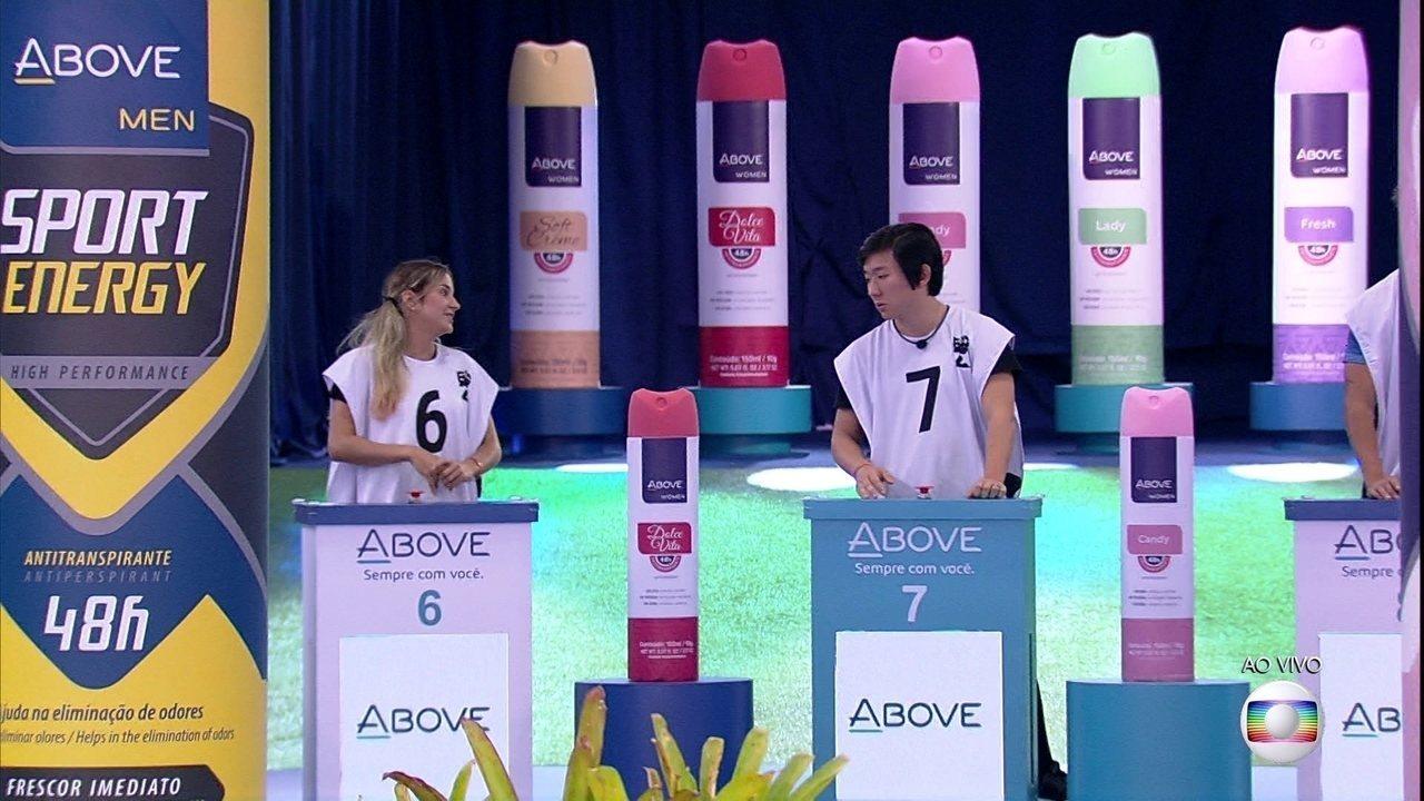 Gabi e Pyong são eliminados da Prova do Líder Above