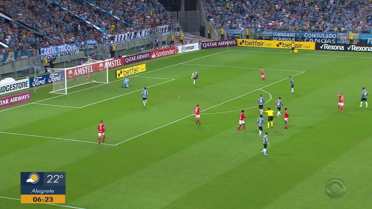 Confusões marcam o Gre-Nal pela Libertadores