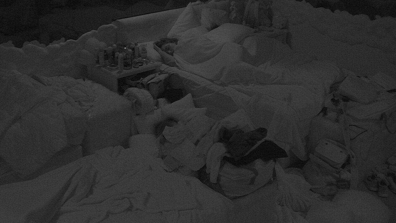 Todos dormem no BBB20 após fim da Prova do Líder Above