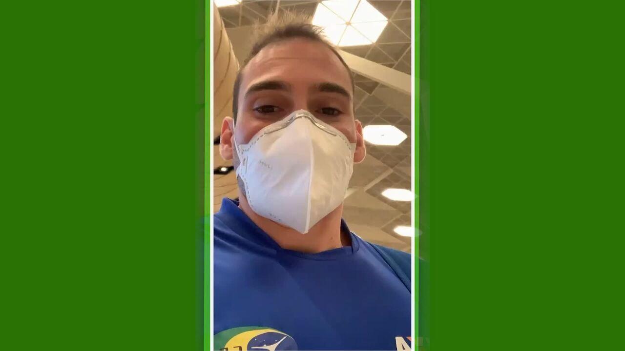 Arthur Zanetti volta para o Brasil após competição ter sido cancelada pelo Coronavírus
