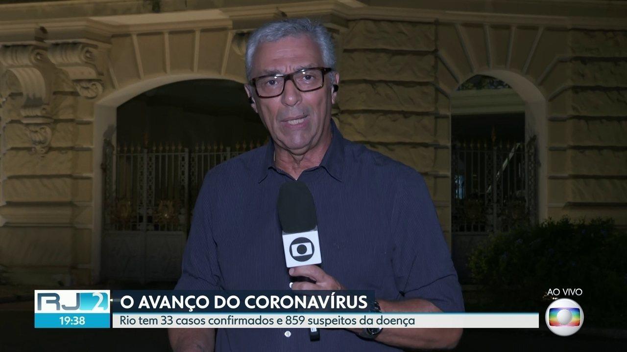 Rio tem 33 casos confirmados e 859 suspeitos da doença