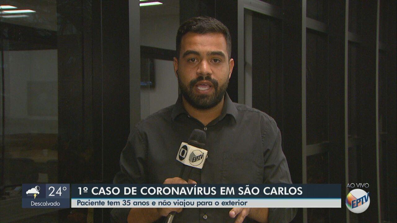 São Carlos confirma 1º caso de coronavírus; homem não viajou para o exterior