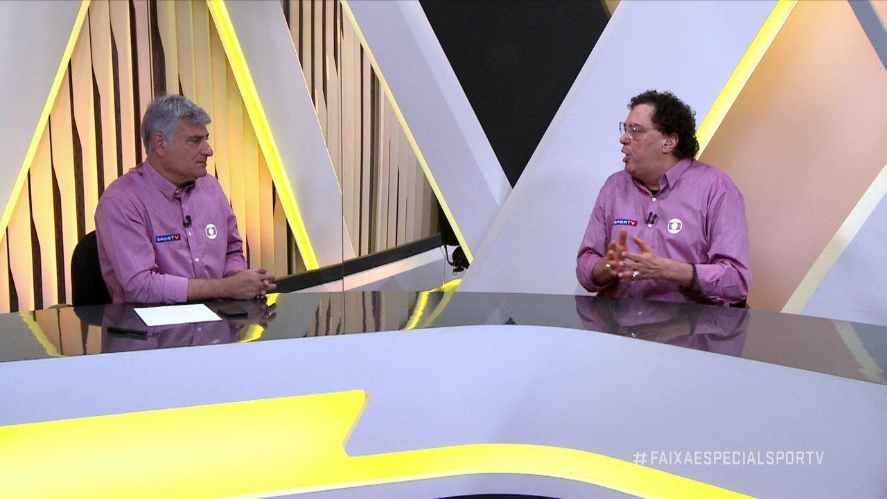 """Casagrande fala sobre a situação do Diogo Vitor no Santos e diz: """"Foi alertado"""""""