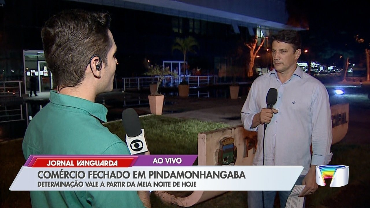 Prefeitura de Pinda determina fechamento do comércio a partir deste sábado, 21