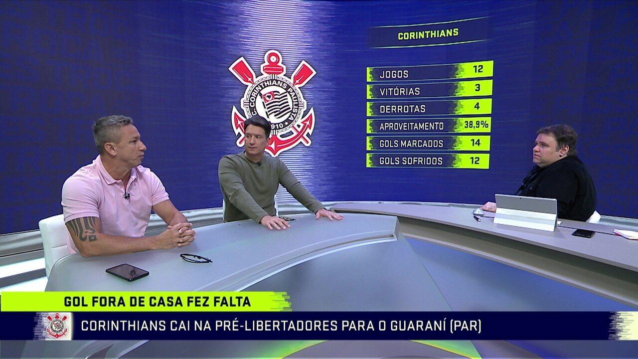 Comentaristas falam sobre o desempenho do Corinthians na temporada
