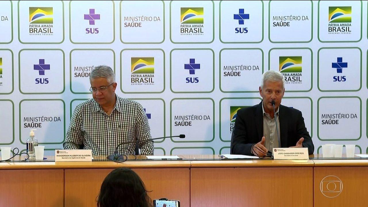 Ministério da Saúde pretende fazer até dez milhões de testes para coronavírus