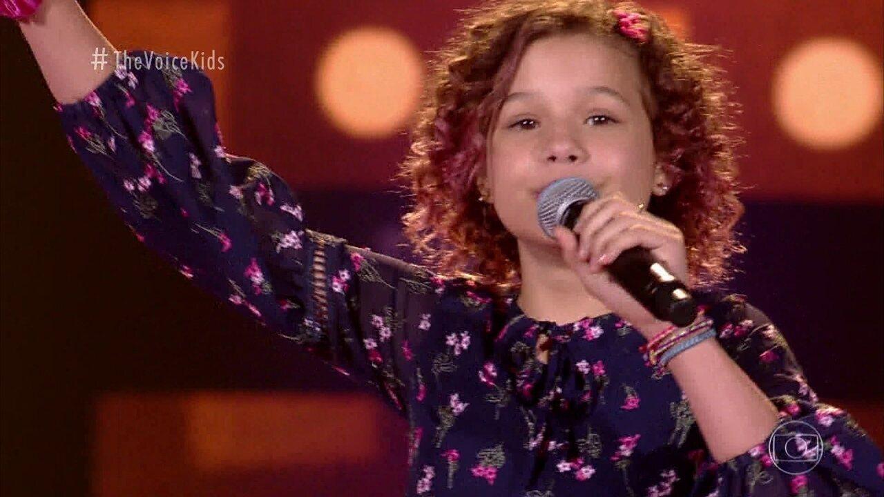 Melhores Momentos Audições às Cegas: Analu Sampaio canta 'Madalena'