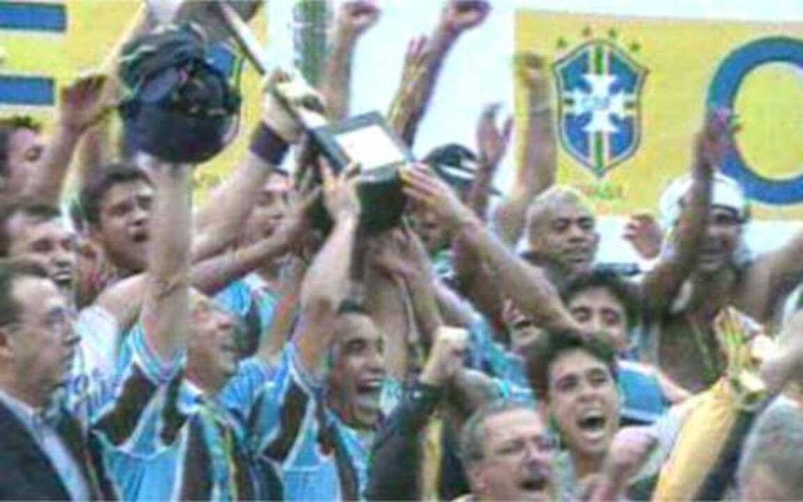Em 2001, Grêmio é tetracampeão da Copa do Brasil