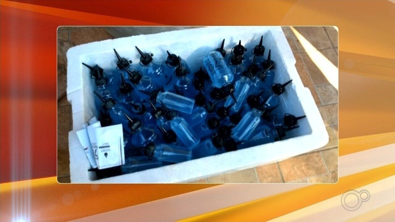 Fábrica clandestina de álcool em gel é apreendida em Mirassol