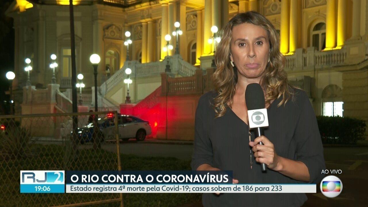 Cidade do Rio registra 1ª morte pela Covid-19