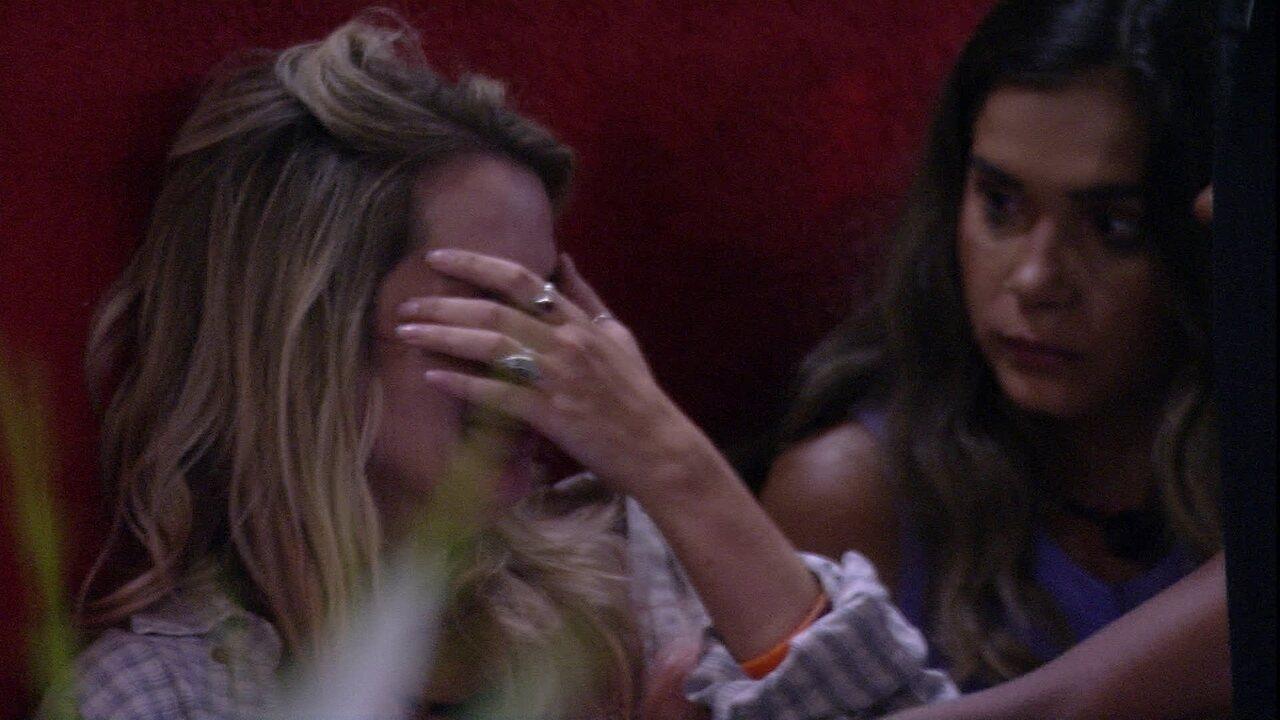 Marcela chora muito e diz: 'A melhor pessoa que eu já conheci em toda minha vida'