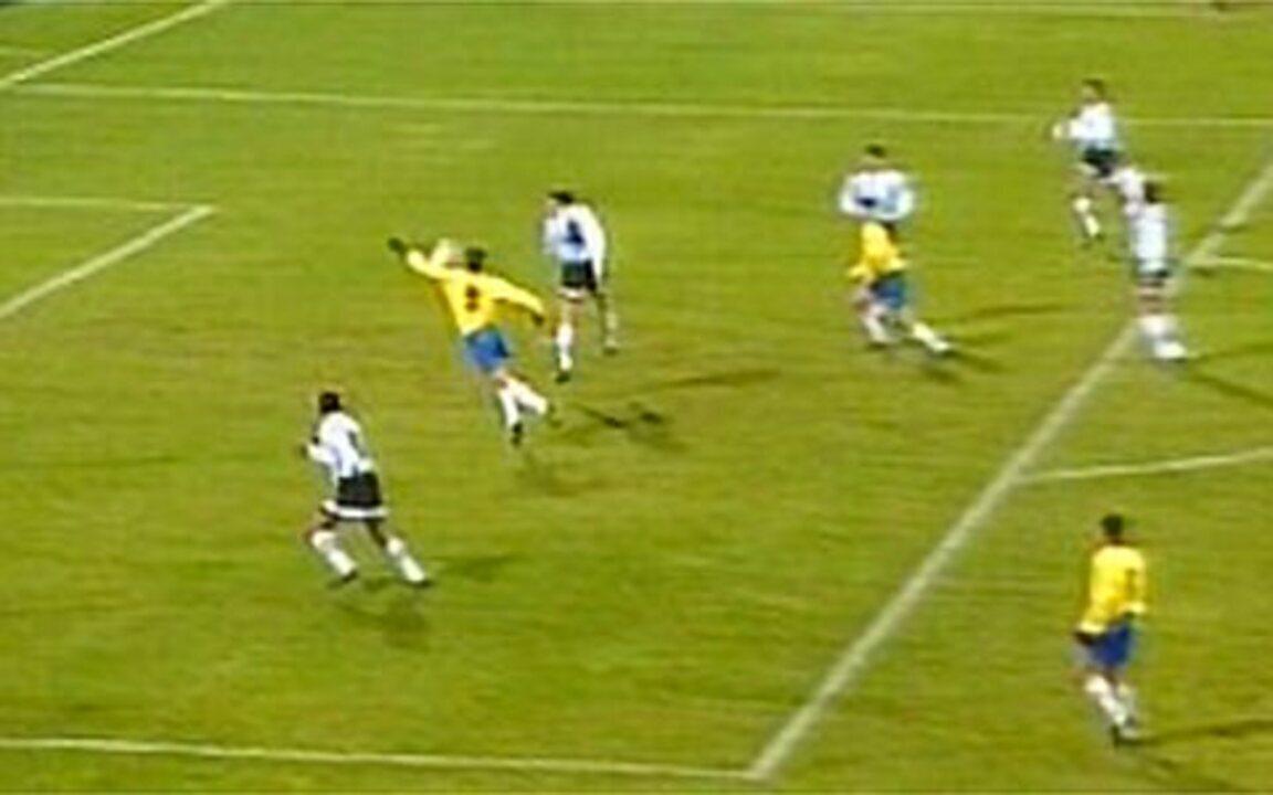 Túlio relembra o gol contra os argentinos em 95