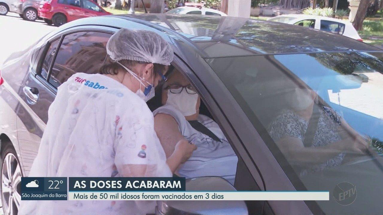 Ribeirão Preto suspende vacinação de gripe após estoque de doses zerar