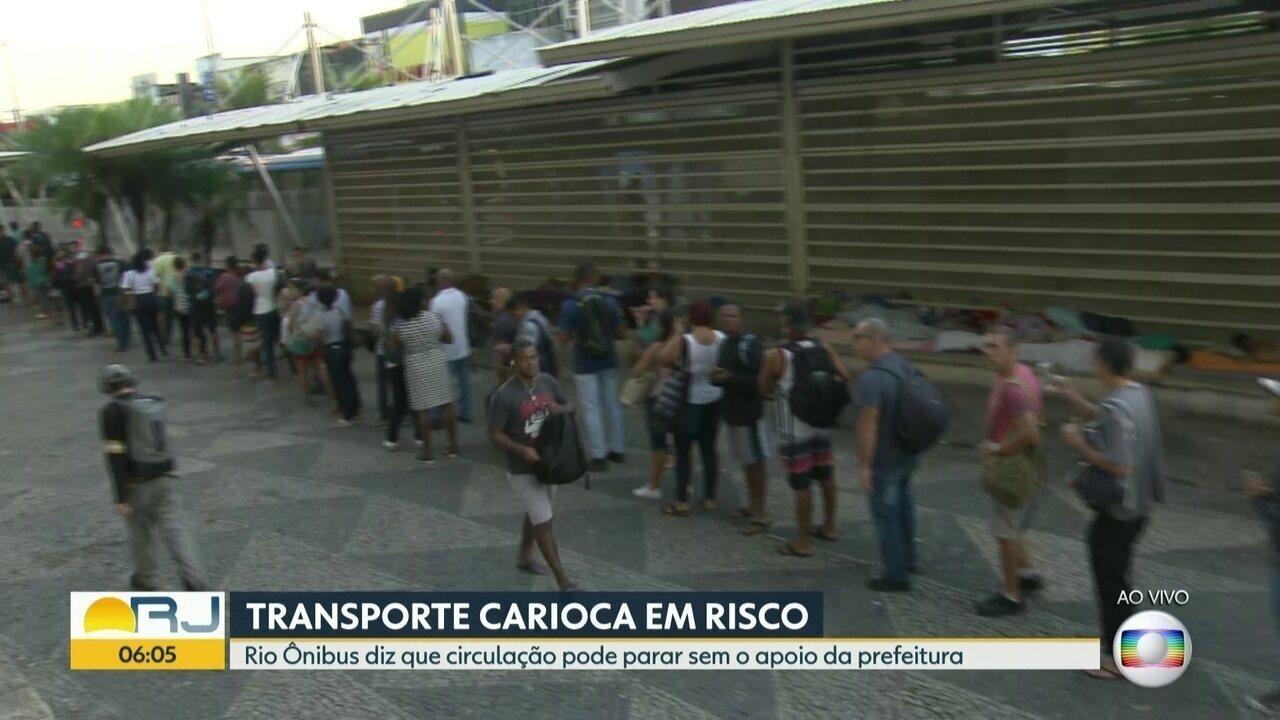 BRT segue com 27 estações fechadas