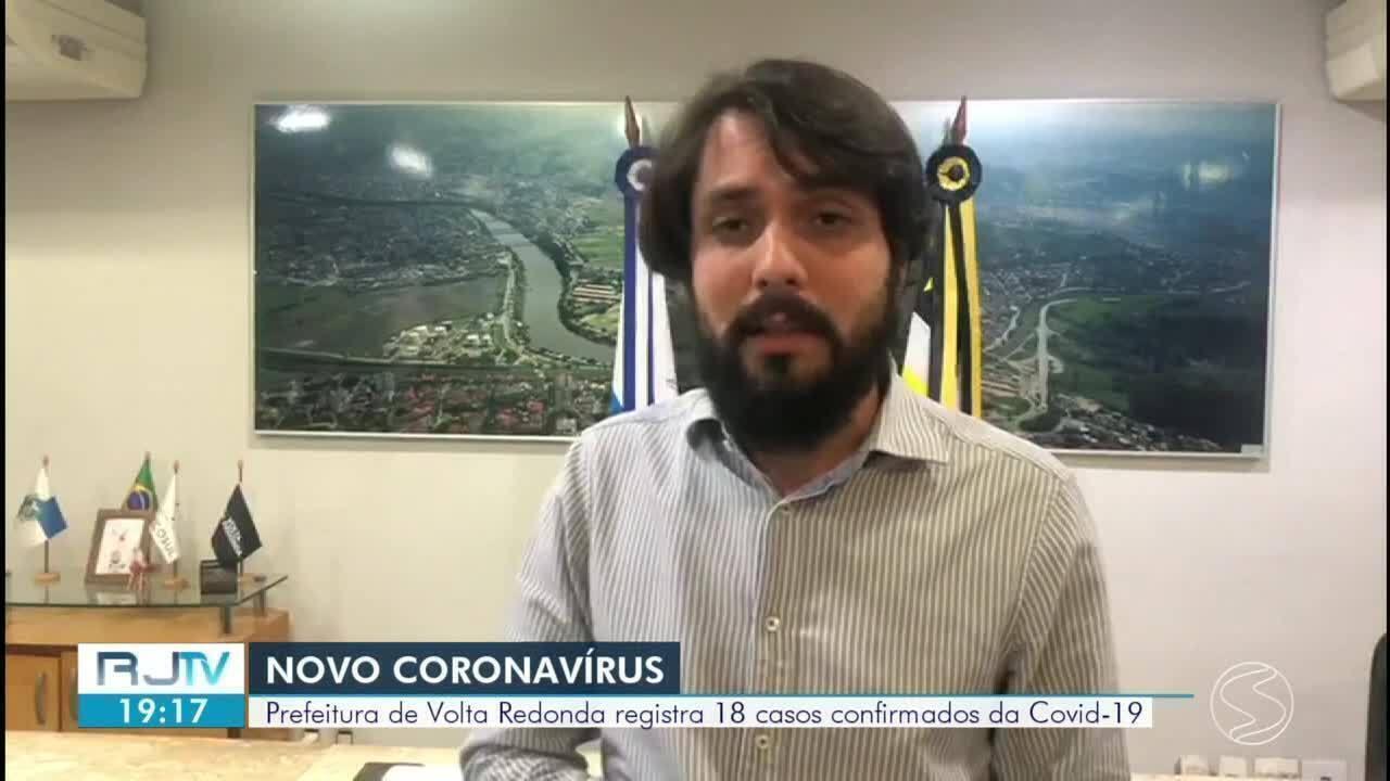 Volta Redonda registra 18 casos confirmados de coronavírus