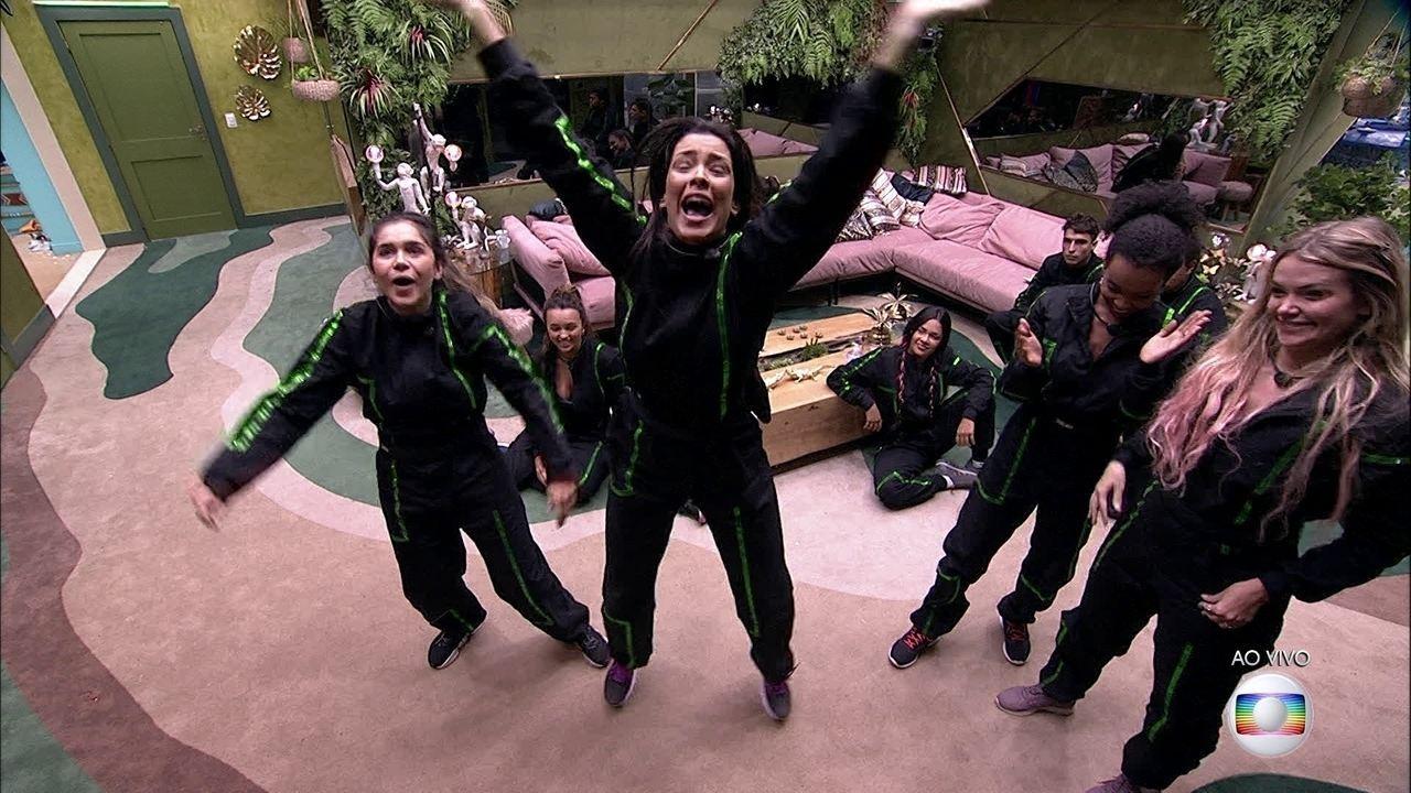Gizelly e Ivy vencem Prova do Líder, e Gabi e Mari estão no Paredão