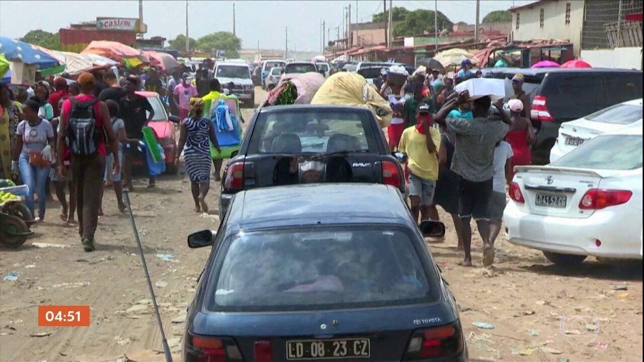 Continente africano está em alerta com o aumento de casos do novo coronavírus