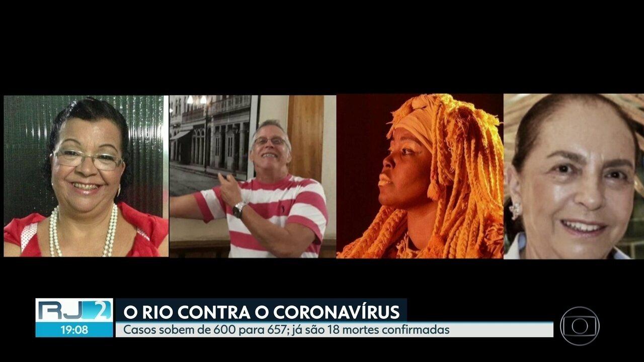 Conheça vítimas do coronavírus no RJ