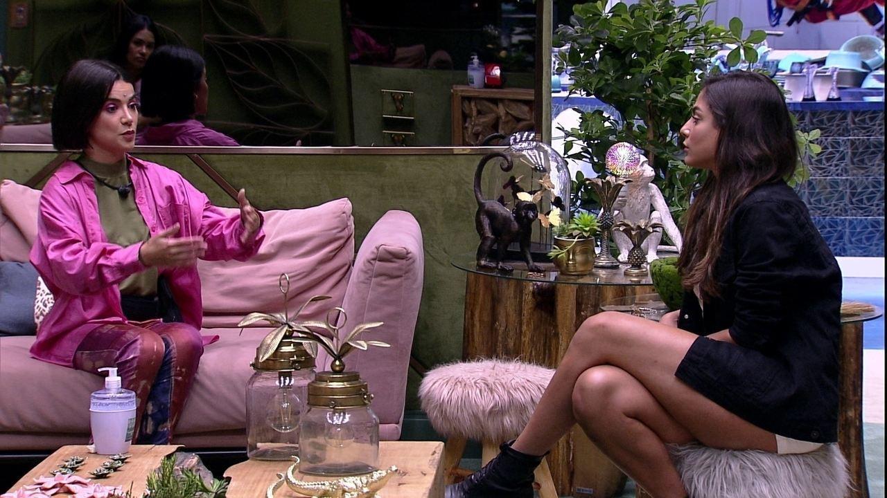 Após Jogo da Discórdia, Manu diz a Mari: 'Sinto você neutra'