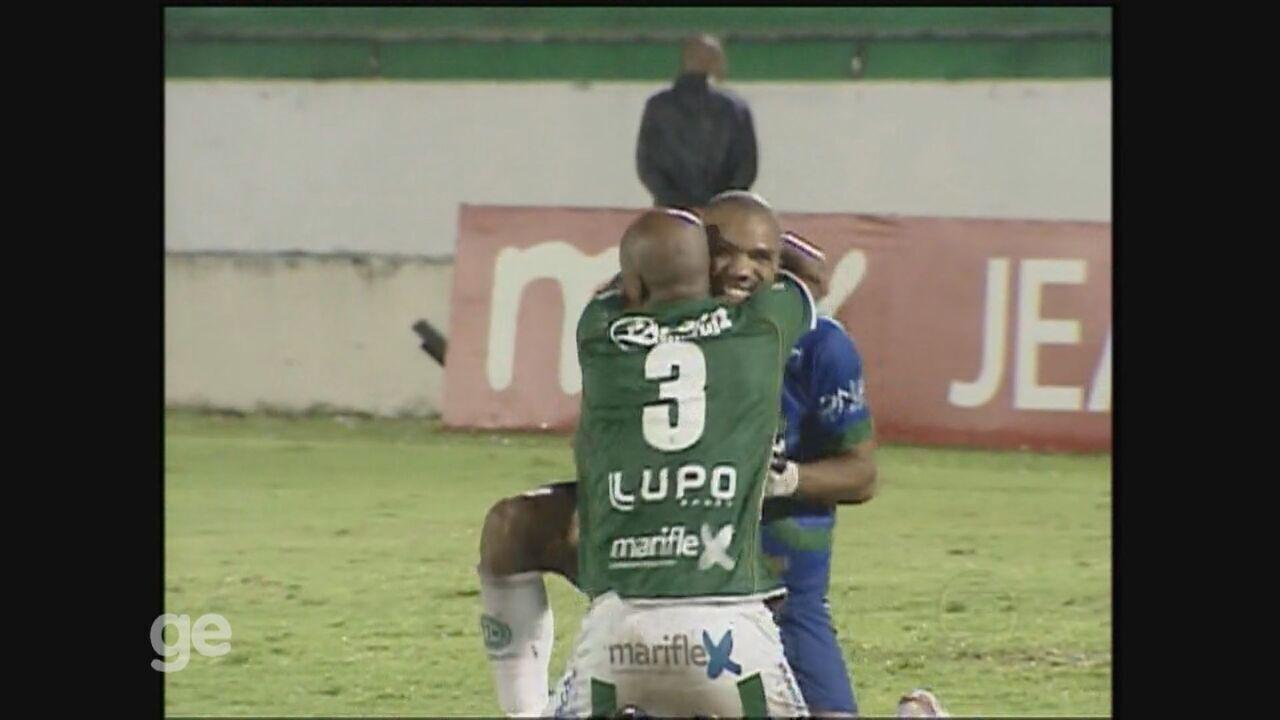 Guarani faz 3 a 1 na Ponte Preta pela semifinal do Paulistão de 2012