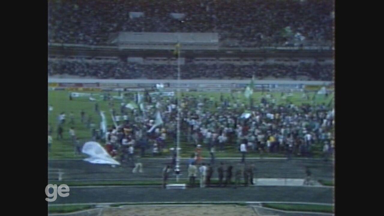 Guarani empata em 1 a 1 com a Anapolina e é campeão da Taça de Prata de 1981