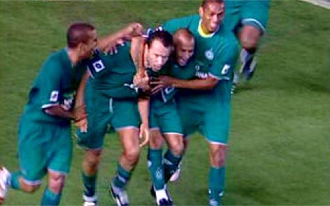 Os gols de Santos 0 x 4 Goiás pela 7ª rodada do Brasileirão 2008