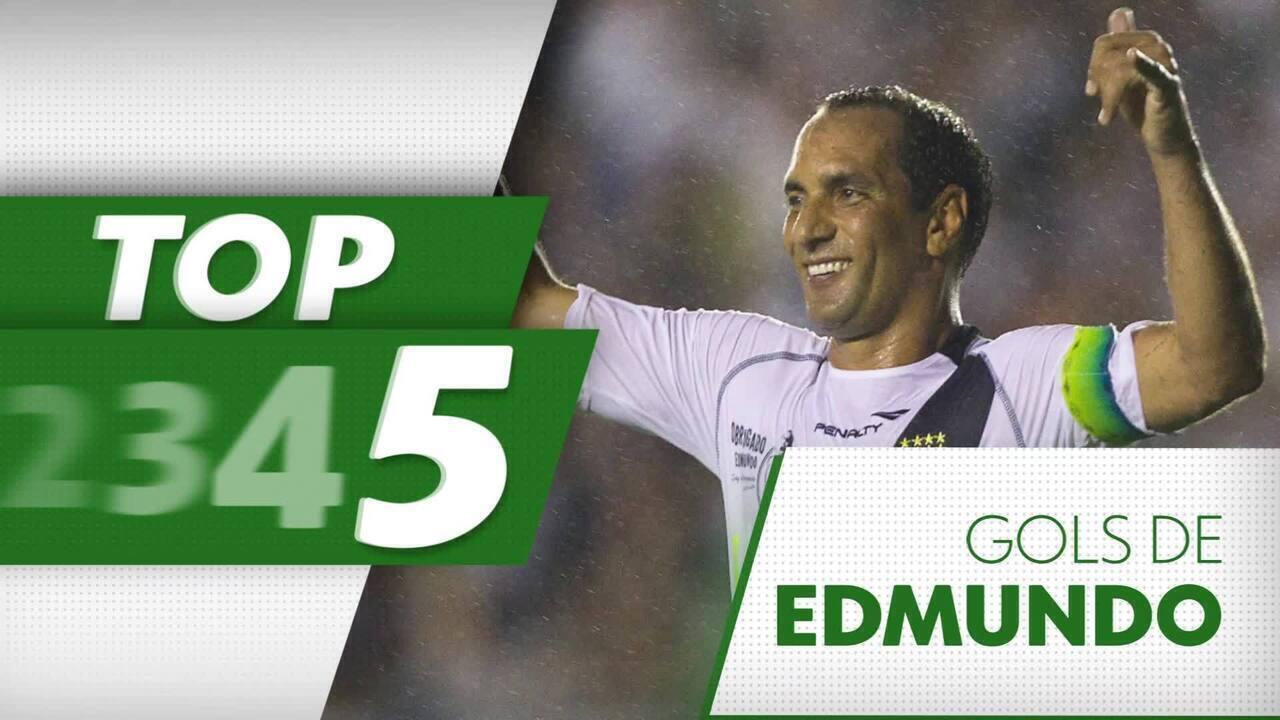 TOP 5 Gols de Edmundo: Relembre belos gol da carreira do craque