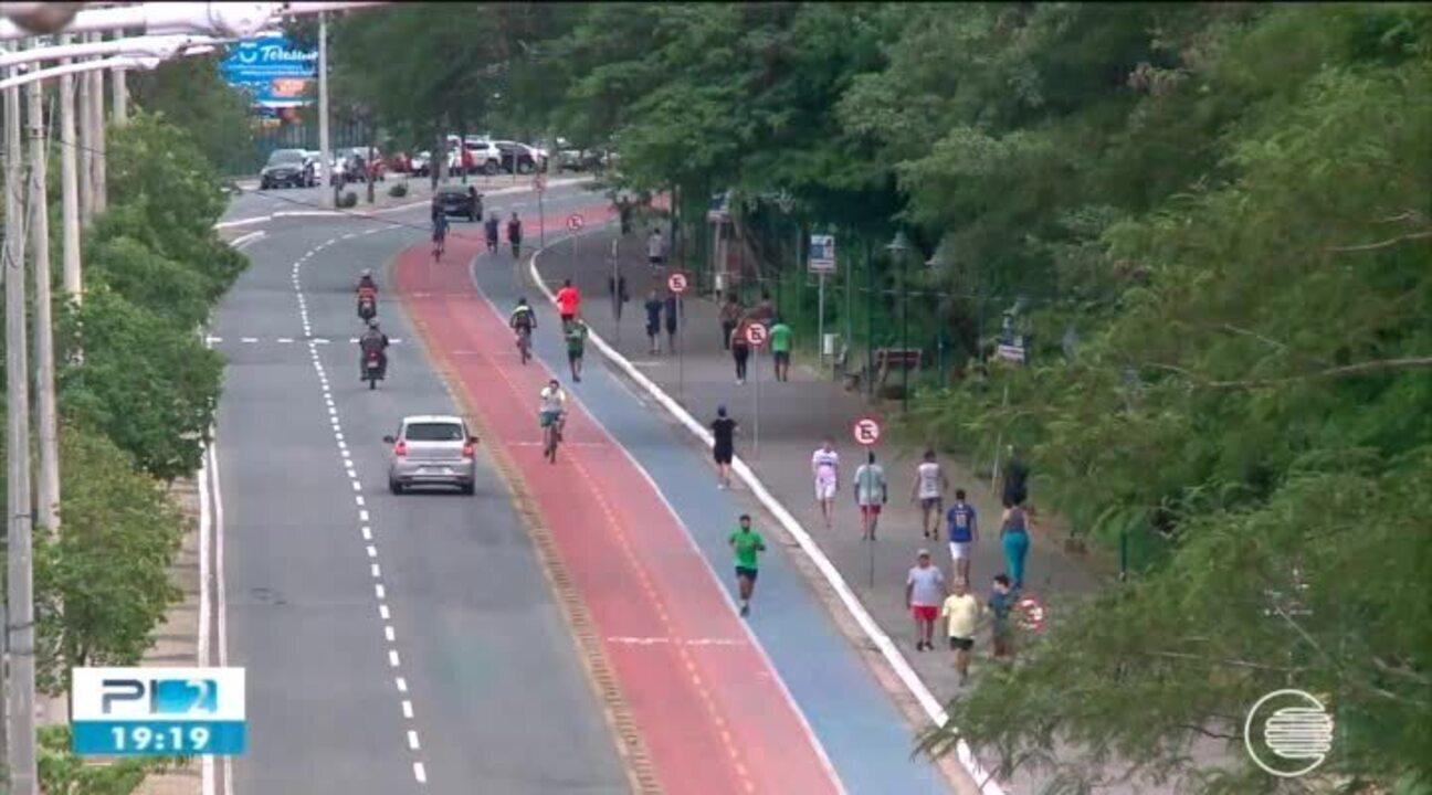 Corredores continuam com aglomeração na Avenida Raul Lopes