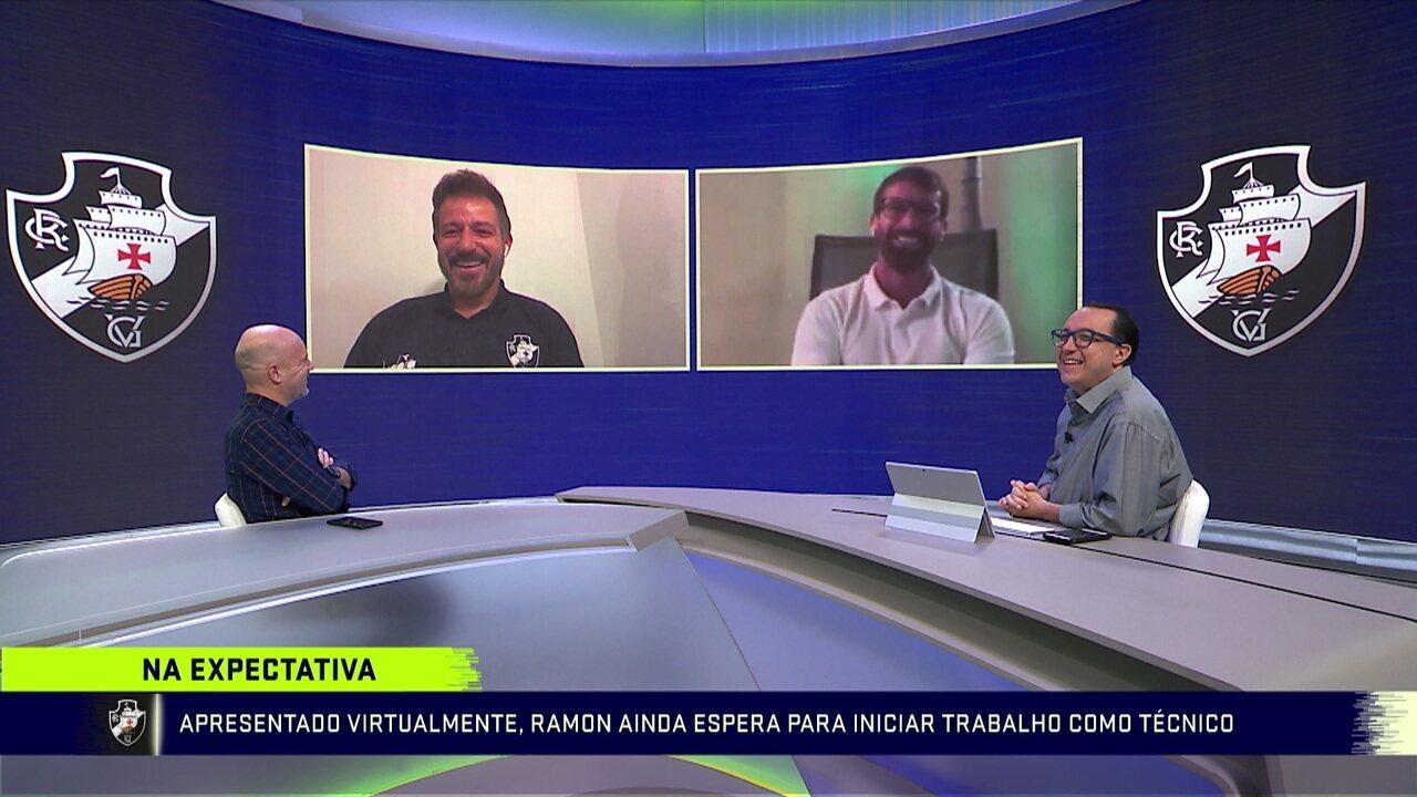 Pedrinho relembra histórias engraçadas do amigo Ramon, novo treinador do Vasco